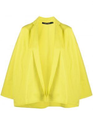 Хлопковый прямой желтый пиджак Sofie D'hoore