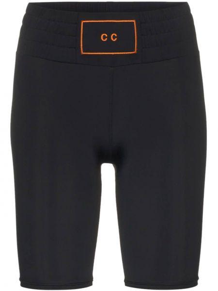 Облегающие черные спортивные шорты Charli Cohen