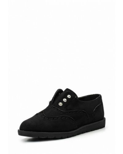 Черные ботинки замшевые Vh