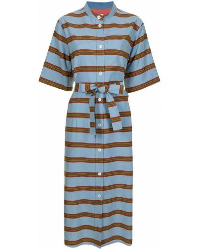 Платье рубашка - синее Paul Smith