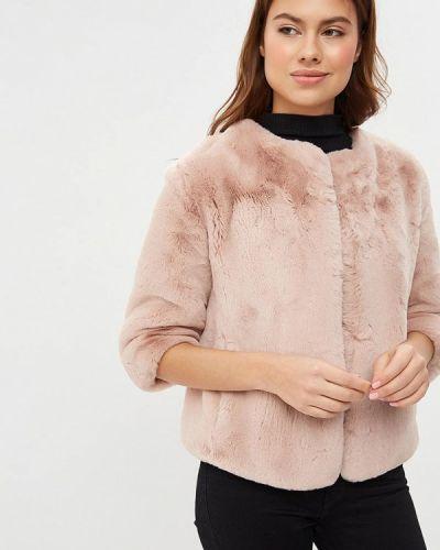 Дубленка розовый Ruxara