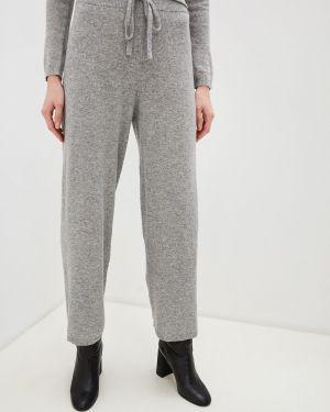 Классические брюки серые Weekend Max Mara