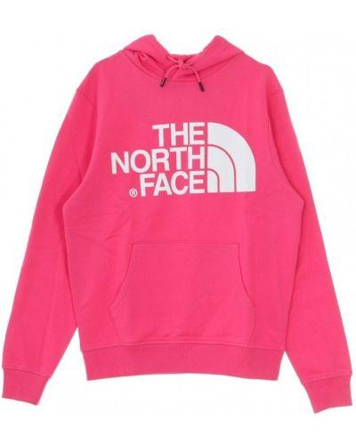 Różowa bluza z kapturem The North Face
