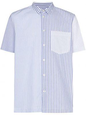 Рубашка с коротким рукавом - белая Wood Wood