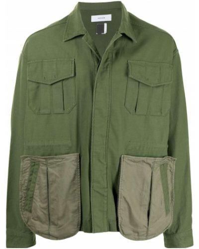 Klasyczna kurtka khaki bawełniana Facetasm