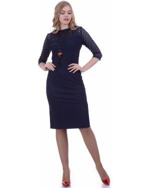 Платье платье-сарафан с вырезом Lautus