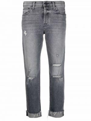 Серые джинсы классические Mother