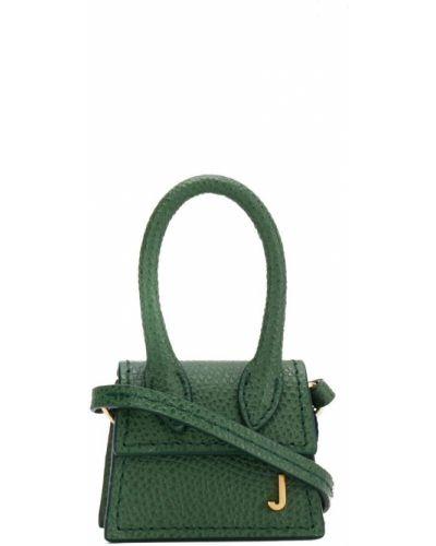 Кожаная сумка зеленый Jacquemus