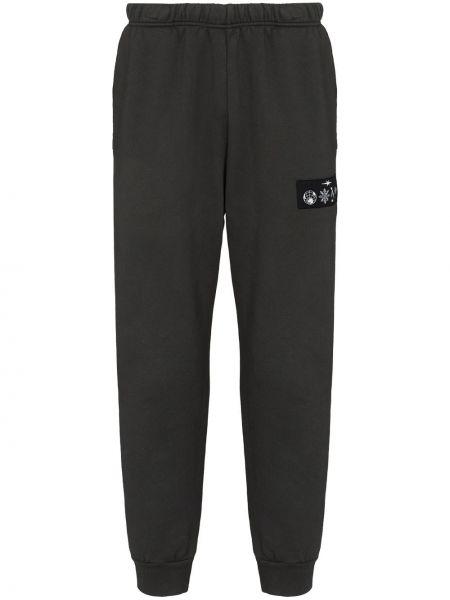Czarne spodnie bawełniane Phipps
