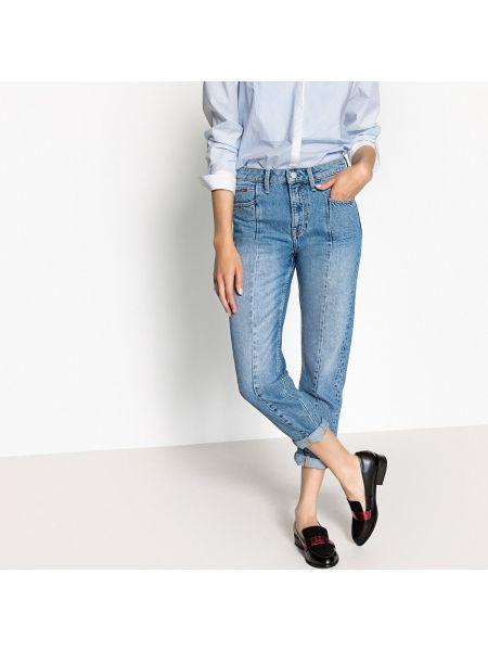 Джинсы на высокий рост с поясом Pepe Jeans