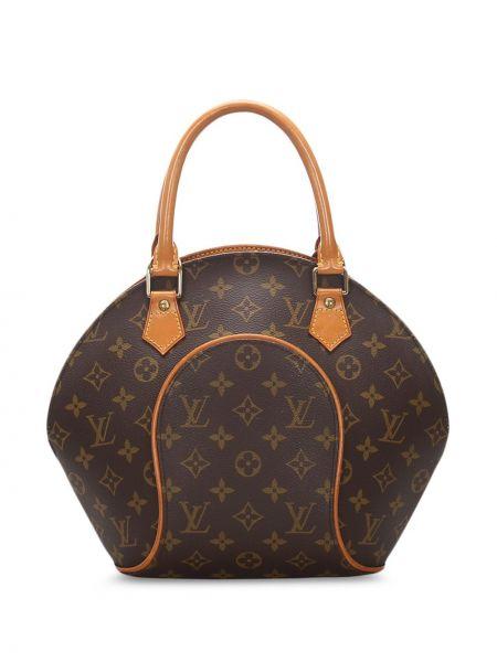 Кожаная сумка сумка-тоут из канваса Louis Vuitton