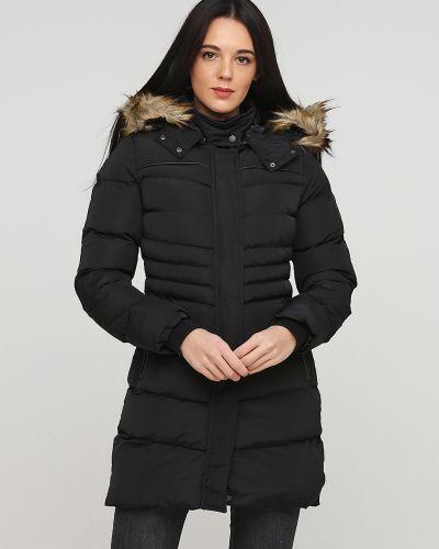 Черная куртка на молнии на резинке Giorgio Di Mare