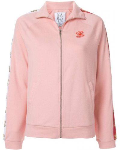 Куртка розовая на молнии Zoe Karssen