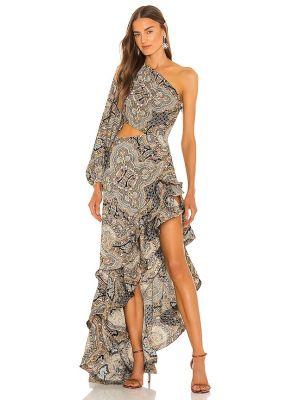 Beżowa klasyczna sukienka Bronx And Banco