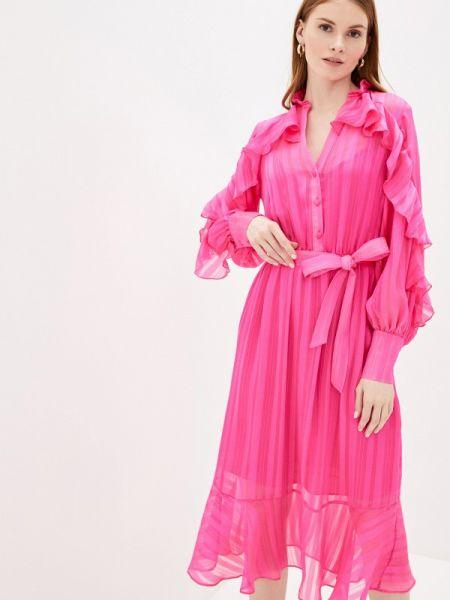 Платье розовое прямое River Island