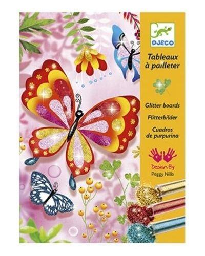 Мерцающая бабочка с бабочками Djeco