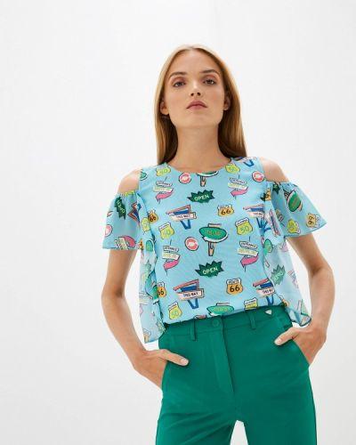 Блузка с рюшами итальянский Blugirl Folies