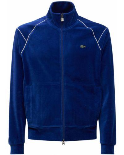 Bluza dresowa - niebieska Lacoste