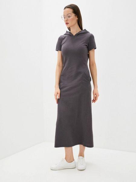 Платье серое платье-сарафан Sitlly