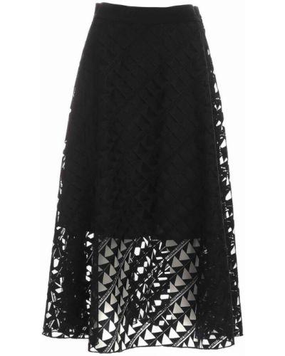 Czarna spódnica Karl Lagerfeld