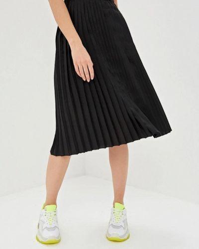 Плиссированная юбка черная Ice Play