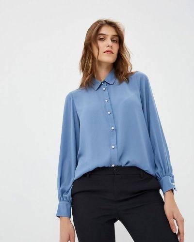 Синяя блузка с длинным рукавом Blugirl Folies