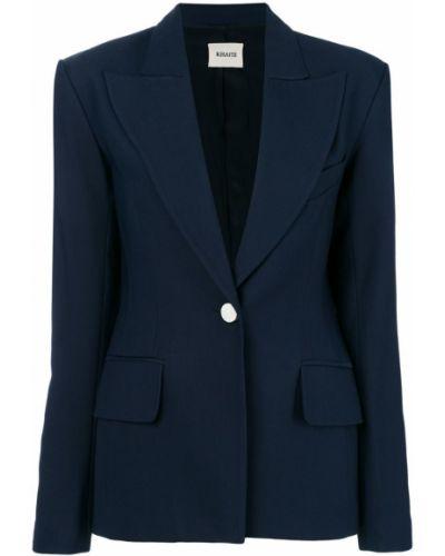 Синий пиджак Khaite