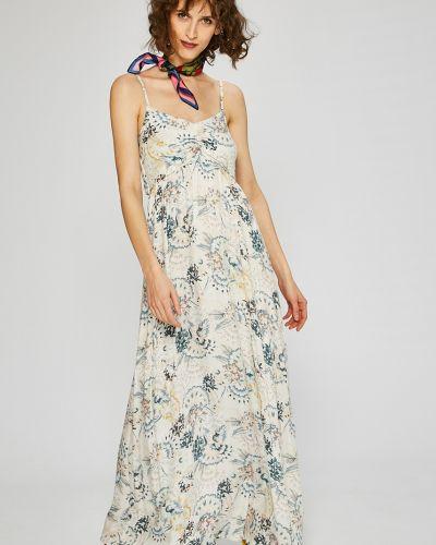 Платье макси из вискозы прямое Roxy