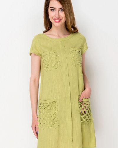 Платье мини весеннее зеленый Ruta-s