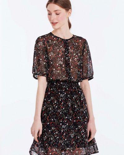 Черное платье весеннее Musthave