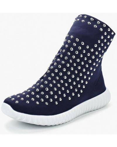 Синие высокие кроссовки Saivvila