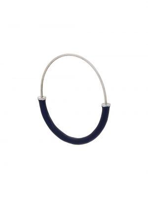 Серьги-кольца черные Maria Black
