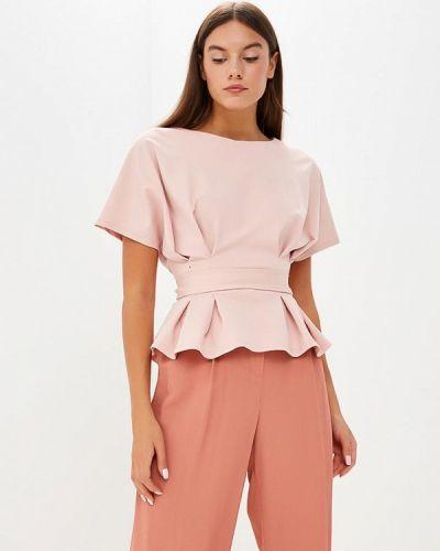 Розовая блузка с коротким рукавом Tutto Bene