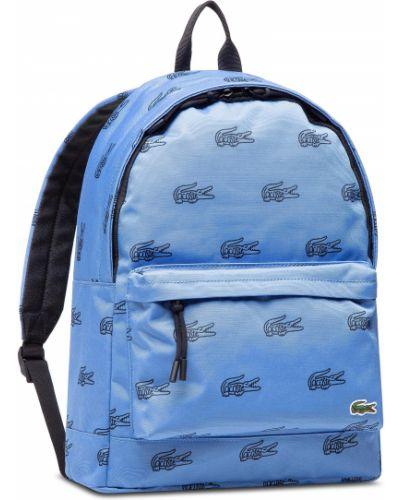 Niebieska torebka Lacoste