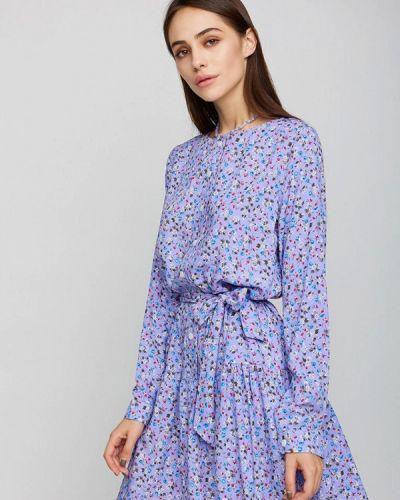 Прямое платье - фиолетовое Karree