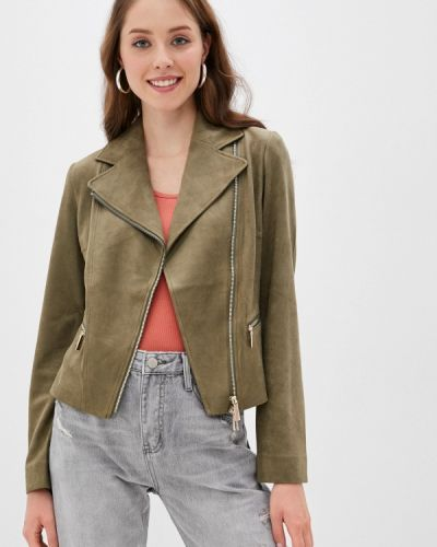 Зеленая кожаная куртка Betty Barclay