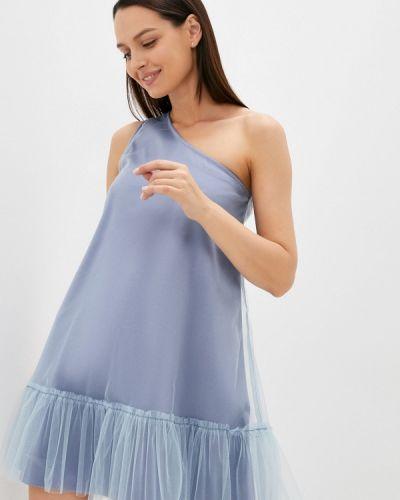 Вечернее платье - голубое M,a,k You Are Beautiful
