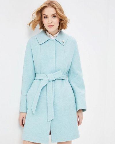 Пальто демисезонное бирюзовый Doroteya