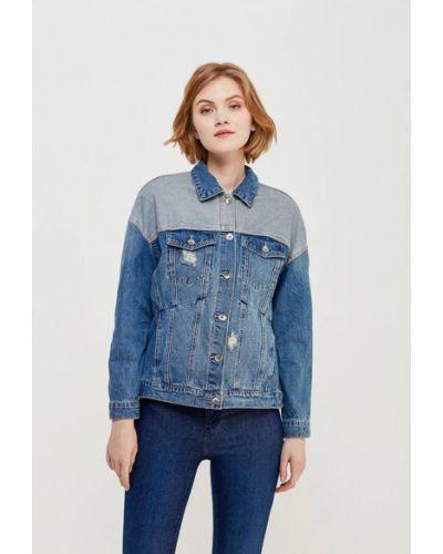 Голубая джинсовая куртка Vero Moda