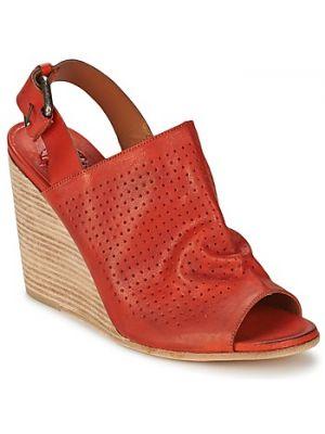 Czerwone sport sandały Oxs