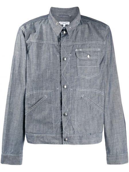 Koszula z długim rękawem dżinsowa długa Engineered Garments