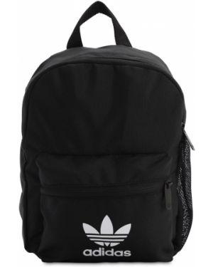 Czarny plecak z nylonu Adidas Originals