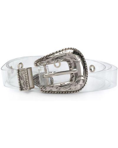Ремень прозрачный белый B-low The Belt