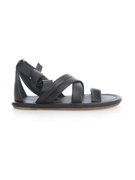 Czarne sandały Marsell
