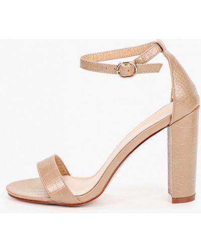 Кожаные босоножки - бежевые Diora.rim