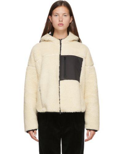 Черная длинная куртка с манжетами с подкладкой с длинными рукавами 3.1 Phillip Lim