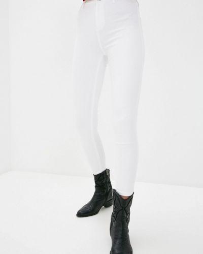 Белые джинсы-скинни узкого кроя Topshop