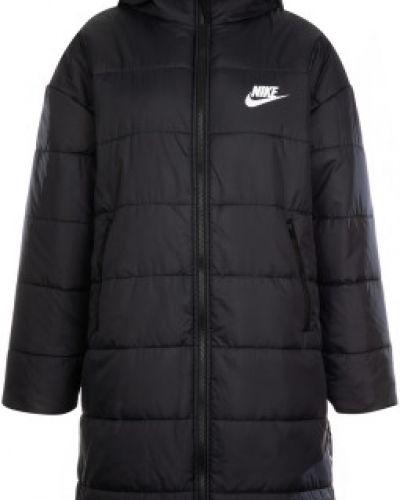 Теплая свободная черная утепленная куртка свободного кроя Nike