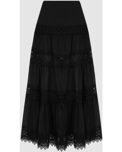 Черная юбка макси Charo Ruiz