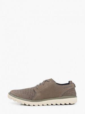 Текстильные ботинки хаки Merrell
